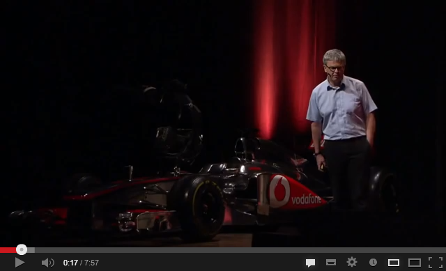 VIDEO – TED Talks: Peter van Manen: How can Formula 1 racing help … babies?