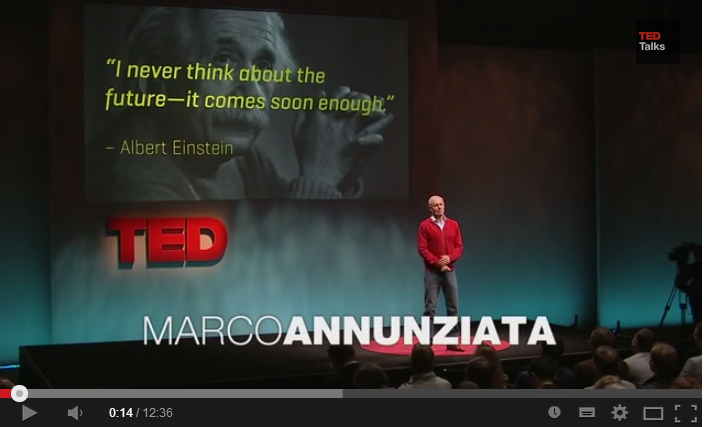 VIDEO – TED Talks: Marco Annunziata: Welcome to the age of the industrial internet